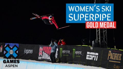 GOLD MEDAL VIDEO: Women's Ski SuperPipe | X Games Aspen 2021 | X Games