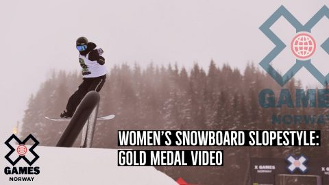 GOLD MEDAL VIDEO: Women's Snowboard Slopestyle | X Games Norway 2020 | X Games