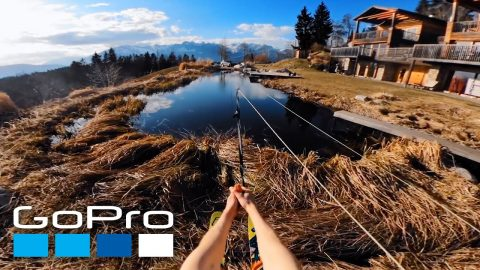GoPro Awards: #HomePro Backyard Waterskiing | GoPro