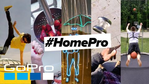 GoPro Awards: Introducing the #HomePro Challenge | Stay Creative | GoPro