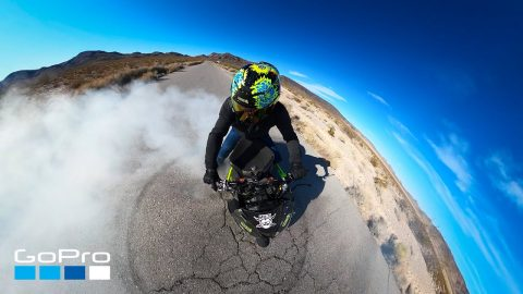 GoPro Awards: Motorcycle Wheelie Acrobatics in 4K | GoPro