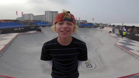 GoPro Course Preview - CJ Collins | Suzhou, China - 2018 Vans Park Series Pro Finals | Park Series