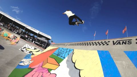 GoPro Course Preview: Curren Caples - Huntington Beach | Vans Park Series | Park Series