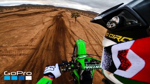 GoPro: Desert Shred with Team Kawasaki | GoPro
