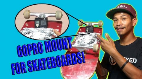GOPRO MOUNT FOR SKATEBOARDS! | Vinh Banh
