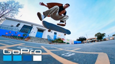 GoPro: Skate Spotlight | Getting Low and Up Close with Dr. Purple Teeth | GoPro