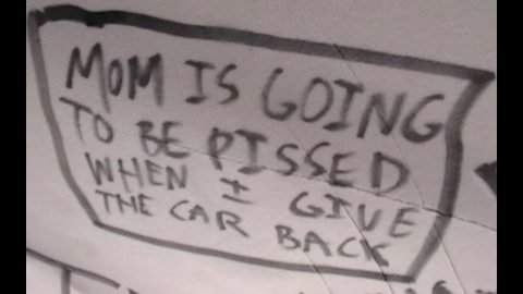 """Grandpa Cam: """"Mom's Going To Be Pissed When I Give The Car Back"""" 