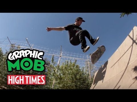 Graphic MOB x High Times: Brad McClain | Fresh Crop - Mob Grip