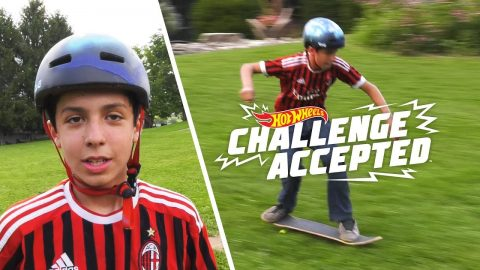 Grass Ride To Shuvit - Hot Wheels Challenge Accepted | Woodward