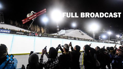 Great Clips Men's Ski SuperPipe: FULL BROADCAST | X Games Aspen 2020 | X Games