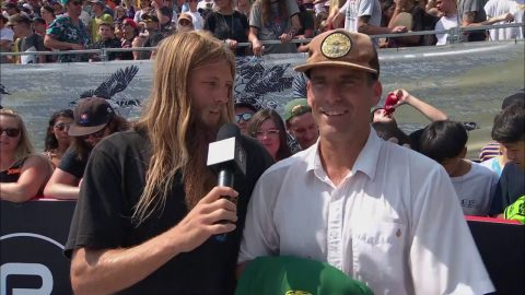 Greyson Fletcher with John Cardiel | Park Series