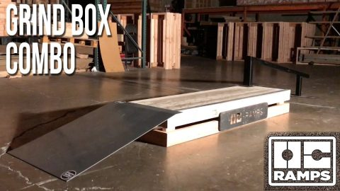 Grind Box combo by OC Ramps - OC Ramps