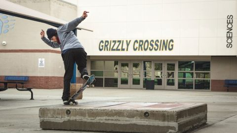 Grizzly Crossing -  Featuring Torey Pudwill - Grizzly Griptape