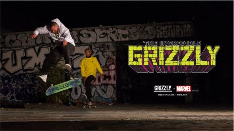 Grizzly Griptape x Marvel V.2 Commercial - The Incredible Grizzly - Grizzly Griptape