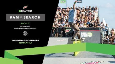 Groseanu Mihnea Interview | Dew Tour Am Series 2017 Barcelona - Dew Tour