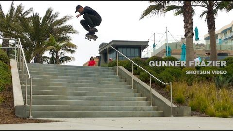 Gunner Frazier - 'Shotgun' Video - The Berrics