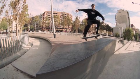 Gustav Tønnesen 'Between The Parts' - Freeskatemag