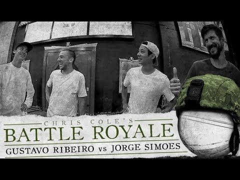 Gustavo Ribeiro & Jorge Simoes - Battle Royale - The Berrics