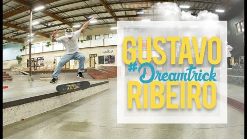 Gustavo Ribeiro's Mind-Blowing Maneuver Hardly Makes Sense | #DreamTrick | The Berrics