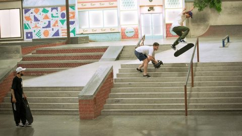 Gustavo Ribiero Has Biggerflip Frontside Boardslides ON LOCK | The Berrics