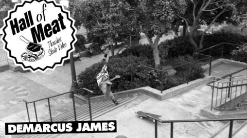 Hall Of Meat: Demarcus James - ThrasherMagazine