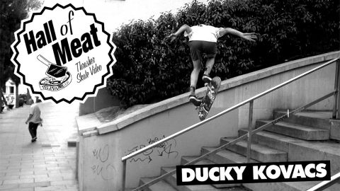 Hall Of Meat: Ducky Kovacs - ThrasherMagazine