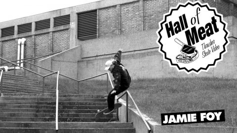 Hall Of Meat: Jamie Foy - ThrasherMagazine