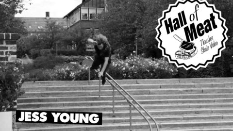 Hall Of Meat: Jess Young - ThrasherMagazine