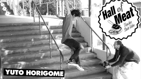 Hall Of Meat: Yuto Horigome - ThrasherMagazine