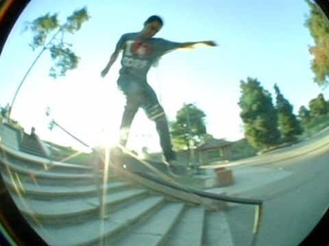 Hammer Time! - Feeble Shuv-it Down a Handrail - DickJones