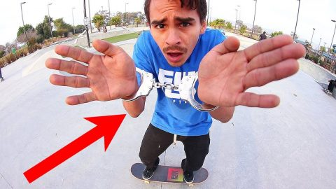 HANDCUFFED GAME OF SKATE! | STUPID SKATE EP 116 - Braille Skateboarding