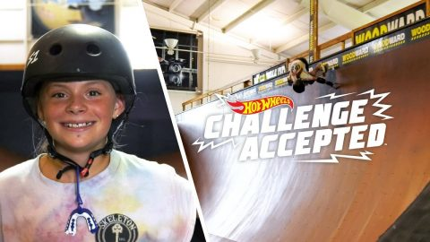 Handplant The Vert Ramp - Hot Wheels Challenge Accepted | Woodward