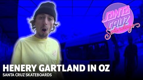 Handrails For Breakfast: Henry's First Trip to Australia! Santa Cruz Saturdays | Santa Cruz Skateboards