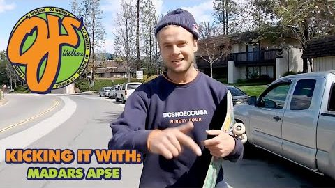 Handstands and Ditch Missions | Kicking It With: Madars Apse | OJ Wheels