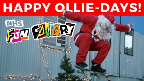 Happy Ollie-Days from the NHS Fun Factory