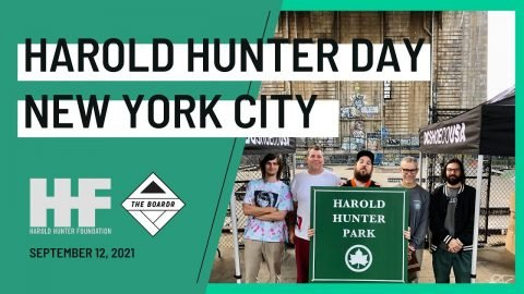 Harold Hunter Day in New York City at LES 2021 | TheBoardr