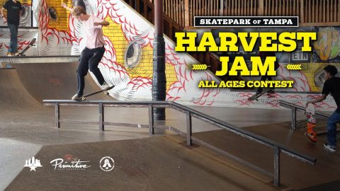 Harvest Jam All Ages Contest 2018 | Skatepark of Tampa