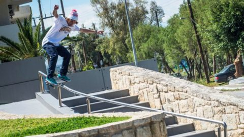 Haslam, Kruglov & Crew Continue Crushing Skate Spots in Crete - Red Bull