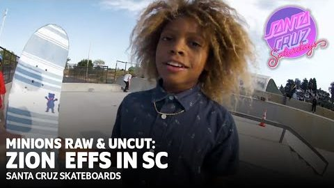 He Said WHAT To Maurio McCoy?! Zion Effs: SC Minions Raw & Uncut | Santa Cruz Saturdays | Santa Cruz Skateboards