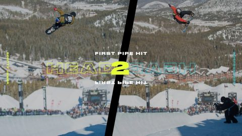 Head 2 Head: Scotty James Vs. Ben Ferguson First Halfpipe Hit | Dew Tour