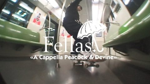 "Hélas' ""Fellas: A Cappella Peacock and Devine"" Video 