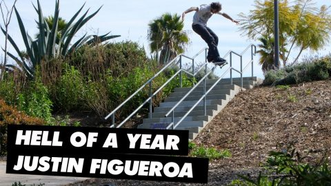 Hell of a Year: Justin Figueroa | ThrasherMagazine