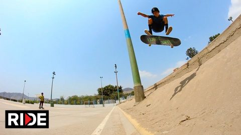 "He's Back - 9 Year Old Skater Gonzo ""Gonzalito"" Morales Still Ripping in Peru - RIDE Channel"