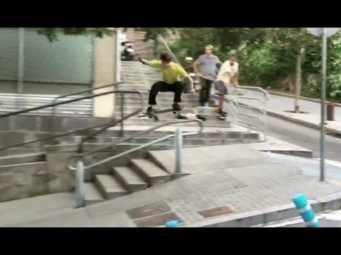 High Speed Gap to Rail Smith Grind to Hillbomb!?!! - Behind the Clips - Mathias Torres - Metro Skateboarding