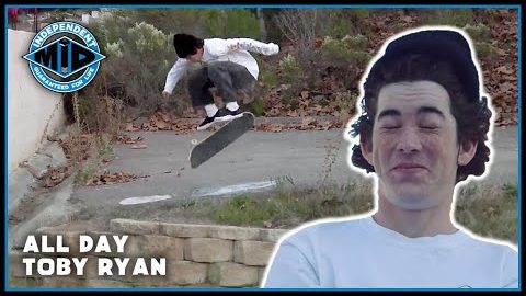 Hit The Streets & Vert Ramp ALL DAY w/ Toby Ryan | Independent Trucks