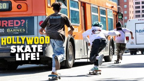 HOLLYWOOD L.A. SKATE LIFE | Luis Mora