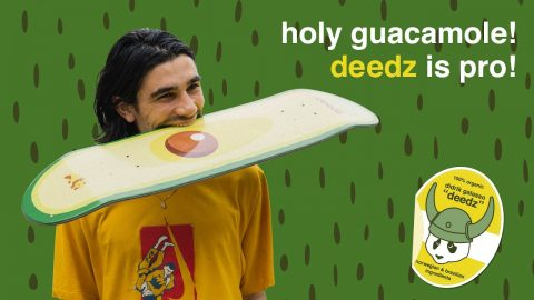 holy guacamole! deedz is pro! | enjoi skateboards didrik galasso | enjoi