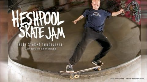 Holy Stoked Fundraiser Jam at the House Skatepark, Sheffield - Sidewalk Mag