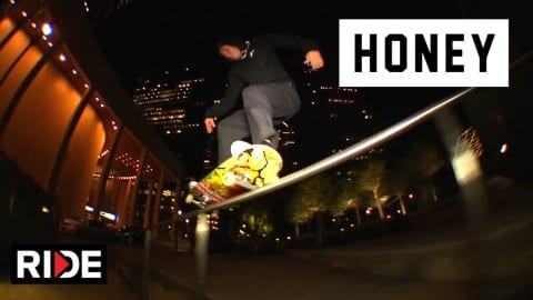 Honey Skateboards AMs Hit the Dirty South