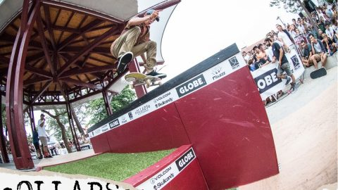 Hossegor Bandstand Skate Showdown - cOLLAPSe 5th birthday session | cOLLAPSe skateboards
